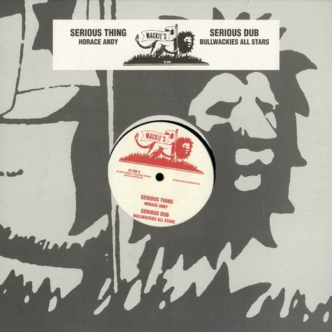 Horace Andy - Serious thing