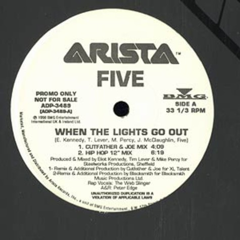 Five - When the lights go out