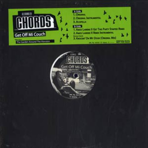 Chords - Get off mi couch