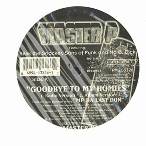 Master P - Goodbye to my homies feat. Silkk the Shocker, Sons of Funk & Mo B Dick