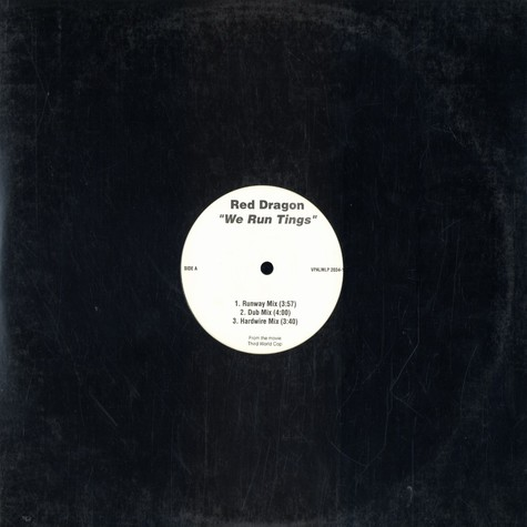 Red Dragon / Beenie Man - We run tings / dungle boogie  feat. Sly & Robbie
