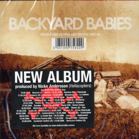 Backyard Babies - People like people like people us