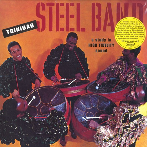 Trinidad Steel Band - A study in high fidelity sound