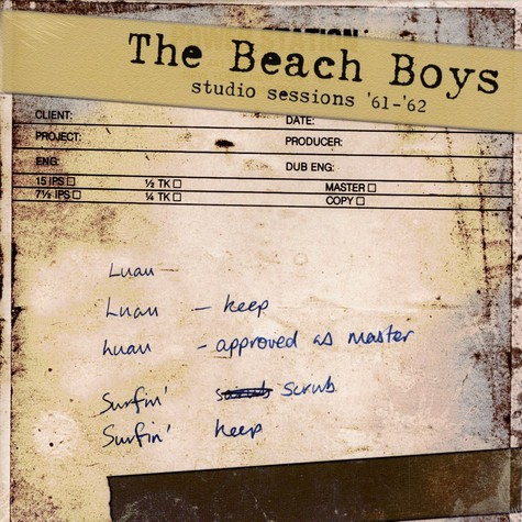 Beach Boys, The - Studio sessions '61 - '62