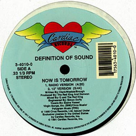 Definition Of Sound - Now is tomorrow