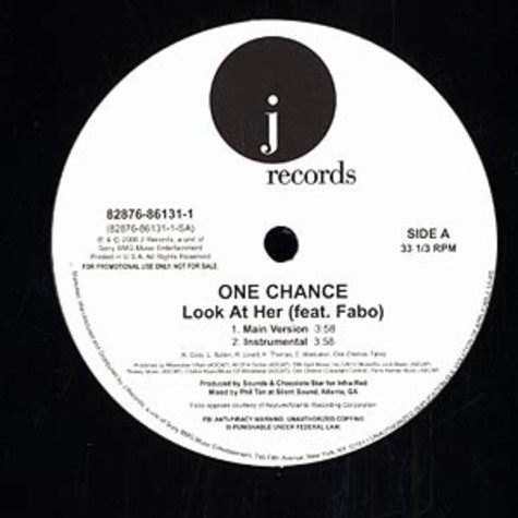 One Chance - Look at her feat. Fabo