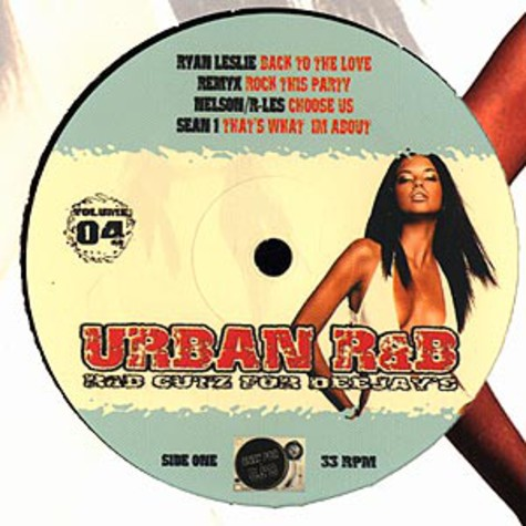Urban R&B - Volume 4