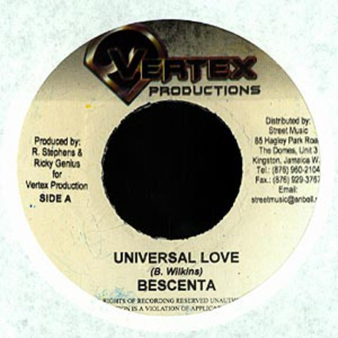 Bescenta - Universal love