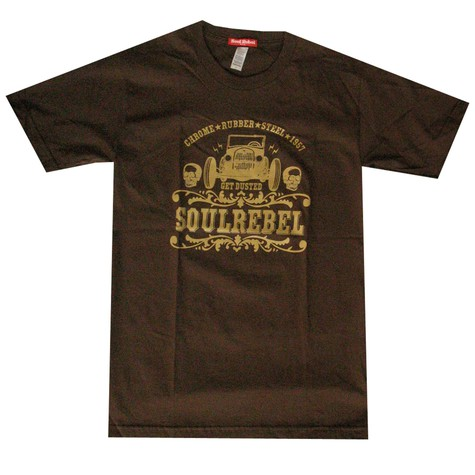 Soul Rebel - Chrome rubber steel T-Shirt