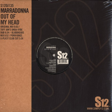 Marradonna - Out of my head