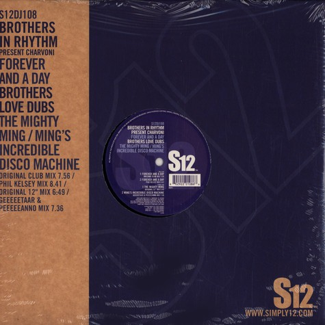 Brothers In Rhythm / Brothers Love Dubs - Forever and a day / the mighty ming
