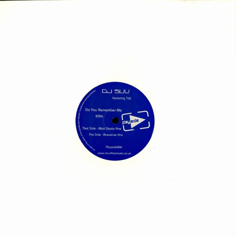 DJ Suv & Tali - Do you remember me 2006 remixes
