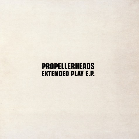 Propellerheads - Extended play EP