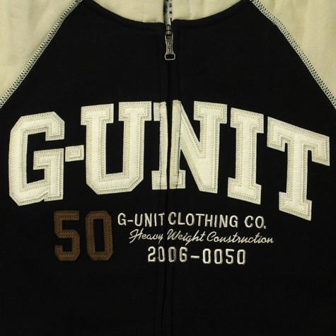 G-Unit - No retreat zip-up hoodie