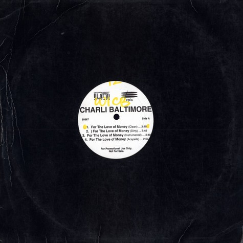 Charli Baltimore - For the love of the money