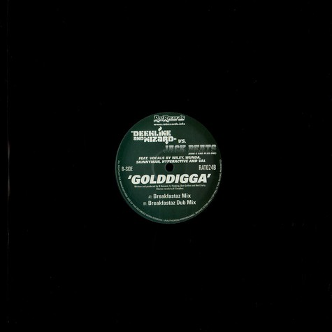 Deekline & Wizard - Golddigga Breakfastaz remixes