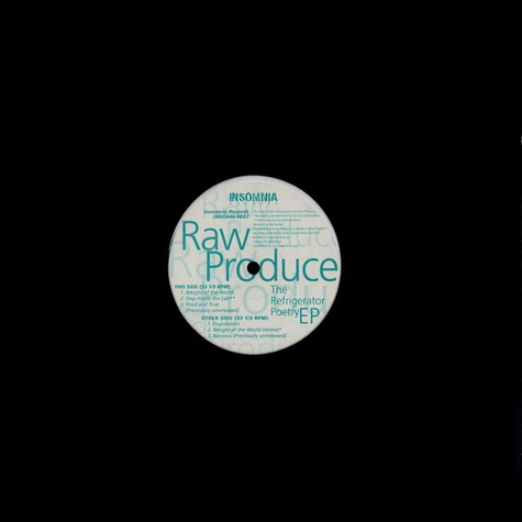 Raw Produce - Weight Of The World