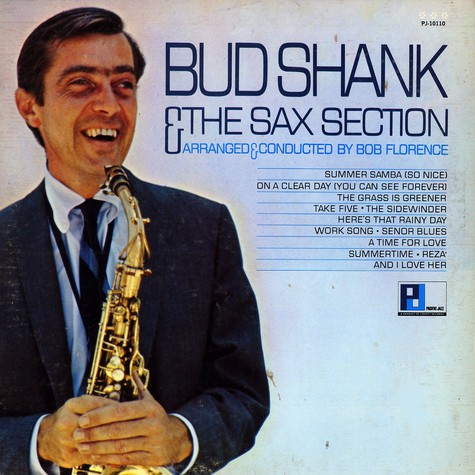 Bud Shank - Bud Shank & The Sax Section
