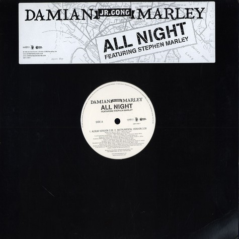 Damian Marley - All night feat. Stephen Marley