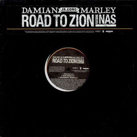 Damian Jr. Gong Marley - Road to zion feat. Nas