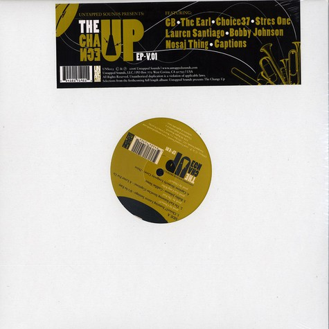 Untapped Sounds presents - The Change Up EP Volume 1