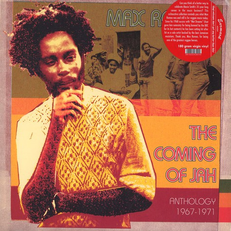 Max Romeo - The coming of jah - anthology 1967-1971