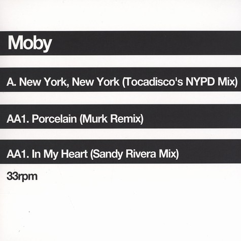 Moby - New York, New York feat. Debbie Harry Tocadisco remix