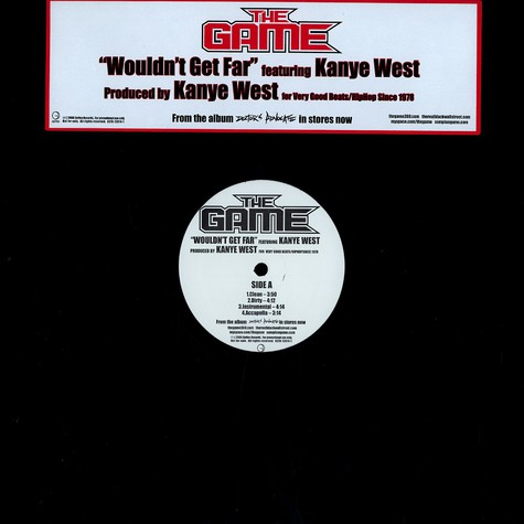 Game, The - Wouldn't get far feat. Kanye West