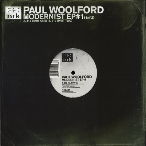Paul Woolford - Modernist EP 1 of 3