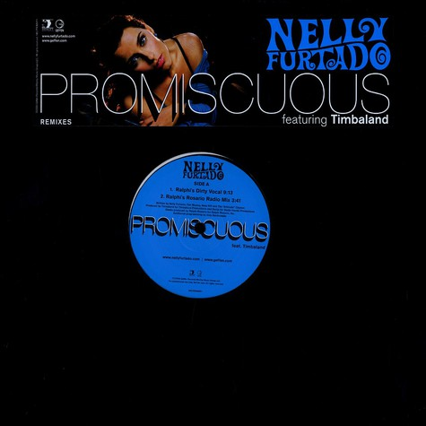 Nelly Furtado - Promiscuous feat. Timbaland remixes
