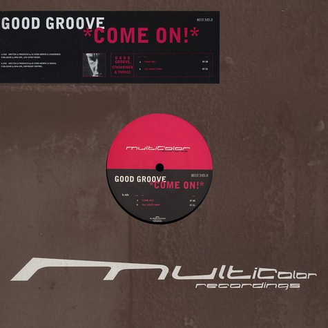 Good Groove - Come on!