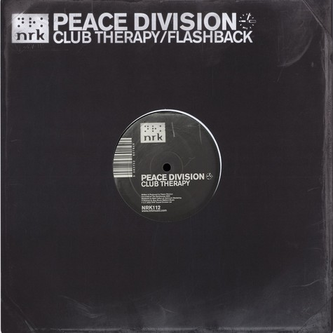 Peace Division - Club therapy