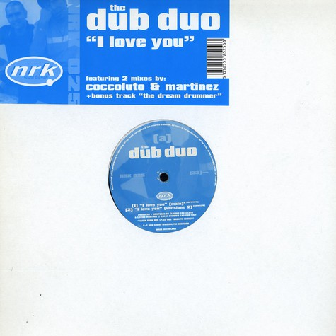 Dub Duo, The - I love you