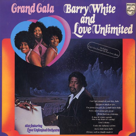 Barry White and Love Unlimited - Grand gala