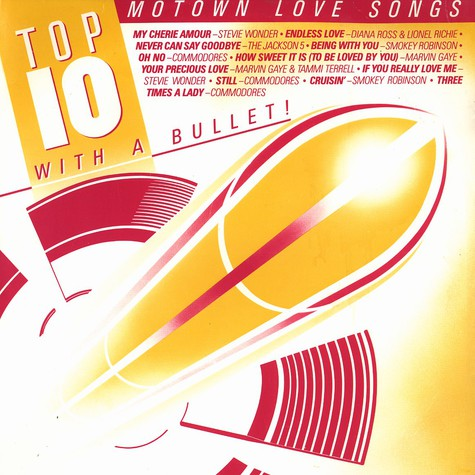 V.A. - Top 10 with a bullet - Motown love songs / Motown dance