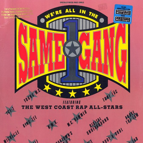 West Coast Rap All Stars - We're all in the same gang