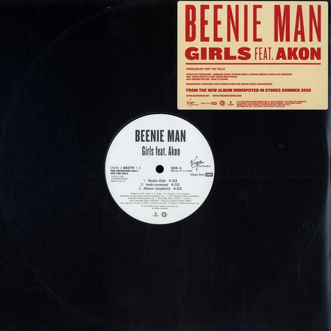 Beenie Man - Girls feat. Akon