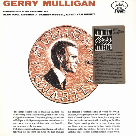 Gerry Mulligan & Paul Desmond - Gerry Mulligan & Paul Desmond