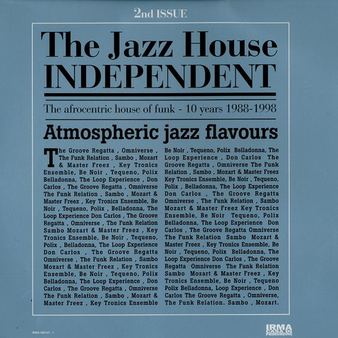 Jazz House Independent, The - 2nd issue