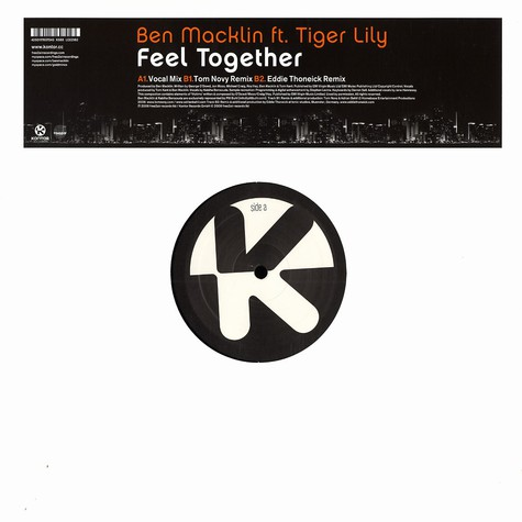 Ben Macklin - Feel together feat. Tiger Lily