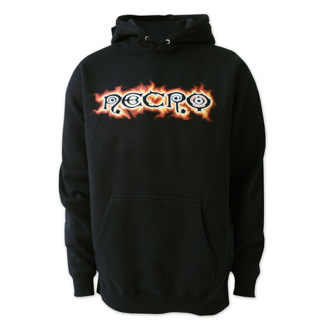 Necro - Flame hoodie