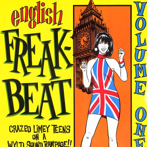 English Freakbeat - Volume 1