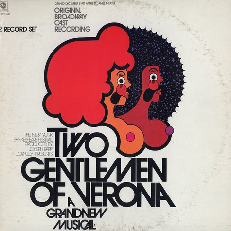 Galt MacDermot - Two gentlemen of verona