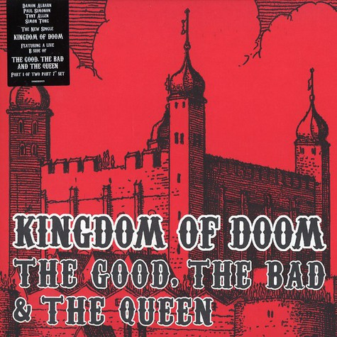 The Good, The Bad & The Queen (Damon Albarn, Paul Simonon of The Clash, Tony Allen and Simon Tong of The Verve) - Kingdom of doom part 1 of 2