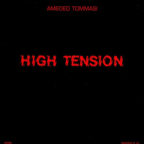 Amedeo Tommasi - High tension