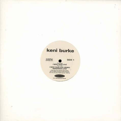 Keni Burke - I need your love feat. Osaze Burke & Natina