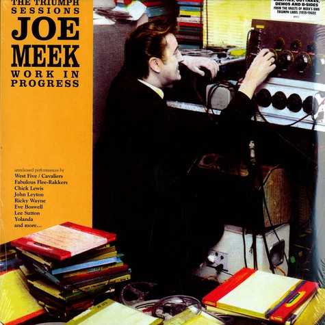 Joe Meek - Work in progress - the Triumph sessions