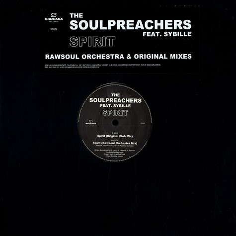 Soulpreachers, The - Spirit feat. Sybille