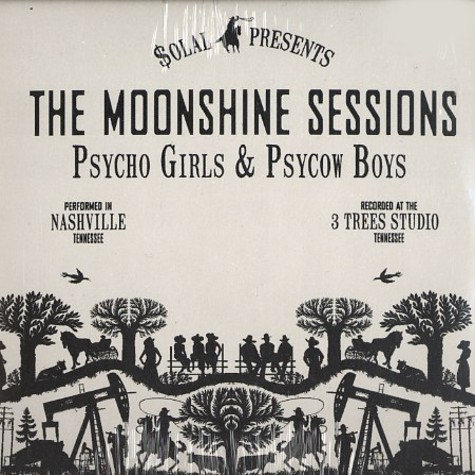 Solal presents The Moonshine Sessions - Psycho girls & psycow boys