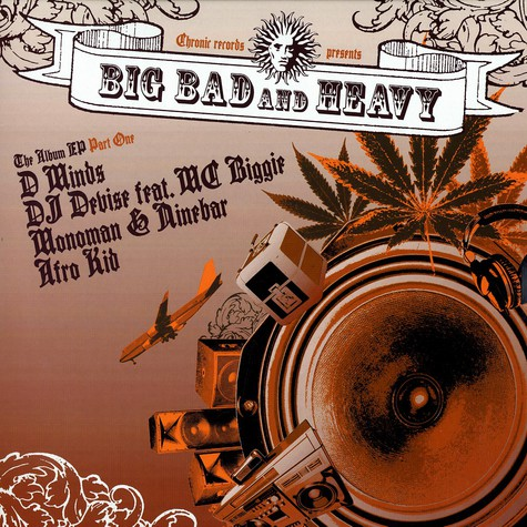Big Bad And Heavy - The album EP part 1